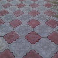 тротуарная плитка ромашка омск