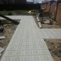 Тротуарная плитка Краковский квадрат